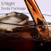 Soda Package, 5-Night Cruise