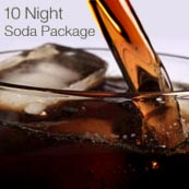 Soda Package, 10-Night Cruise