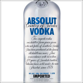 Classic Absolut Vodka