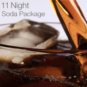 Soda Package, 11-Night Cruise