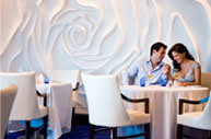 Blu Restaurant, exclusive dining venue for all AquaClass guests.