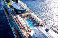 Celebrity Solstice Resort Deck