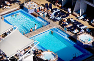 Celebrity Solstice Pool, Resort Deck