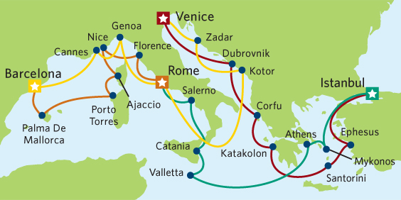 Celebrity Cruises Mediterranean Grand Tour June 2014