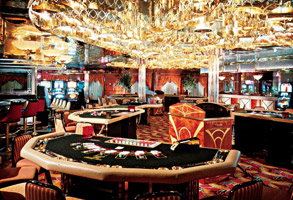 how do casinos work on cruise ships
