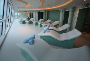 Celebrity Reflection Spa Services