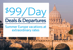 Europe just $99 per day