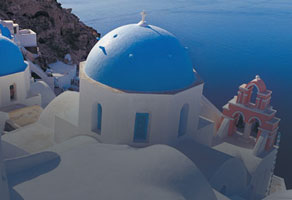 Mediterranean Cruise Vacation, Santorini, Greece